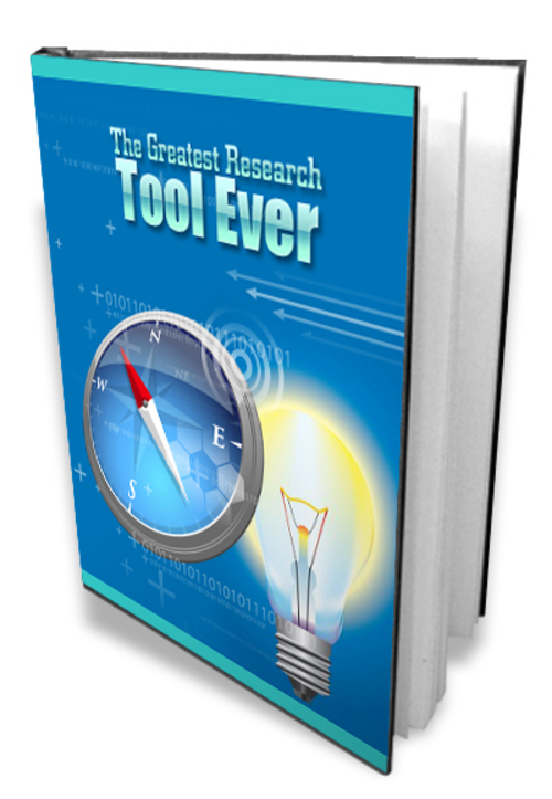 Product picture The Greatest Research Tool Ever w/MRR