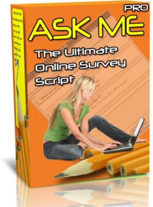 Product picture AskMePro Survey Script w/MRR