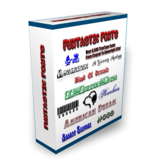 Product picture Funtastic Fonts w/PLR